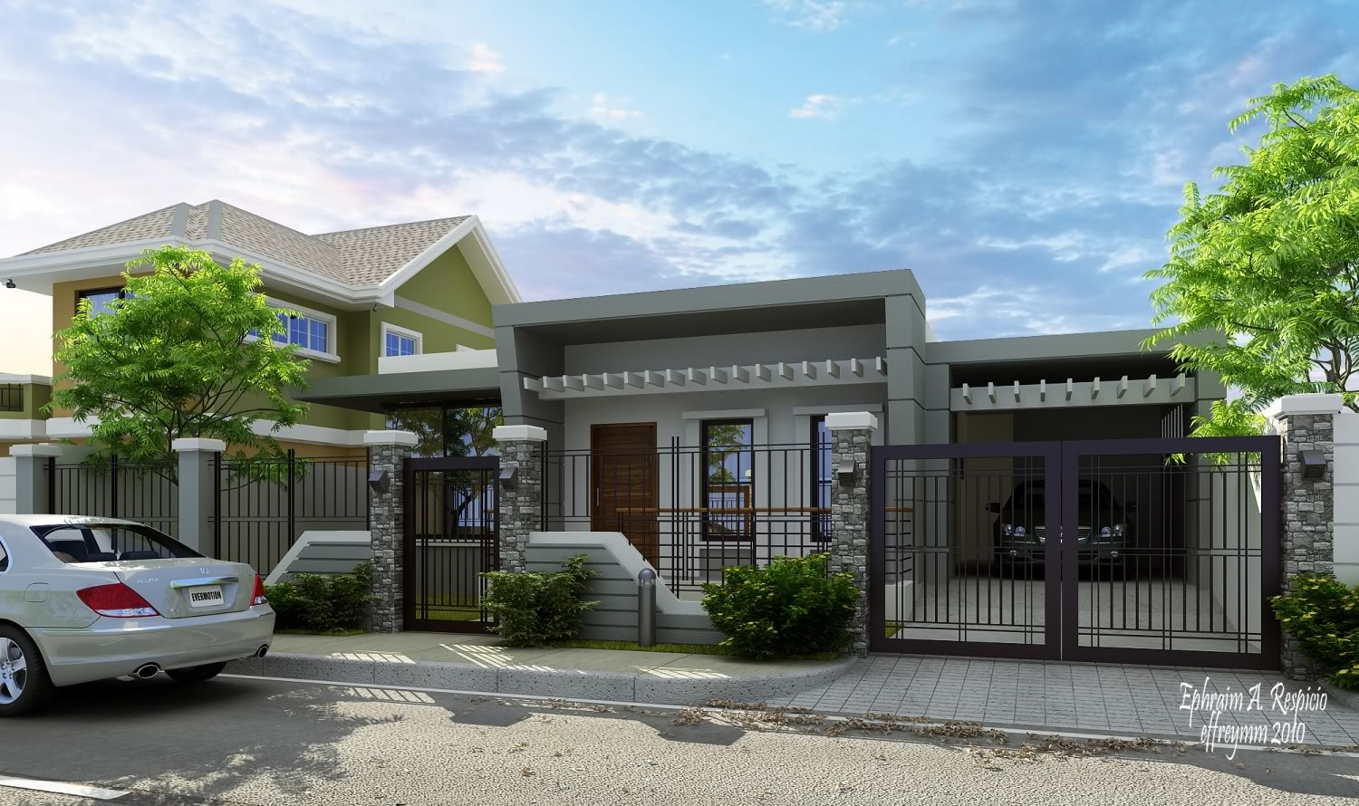 Bungalow pictures in nigeria joy studio design gallery Modern bungalow plans