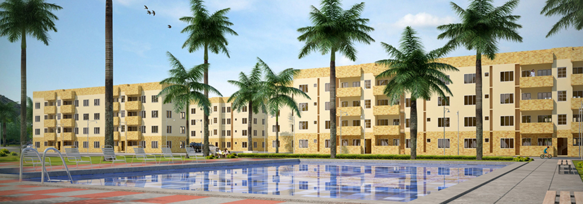 Hannah Gardens Beach Condo, Badagry Nigeria
