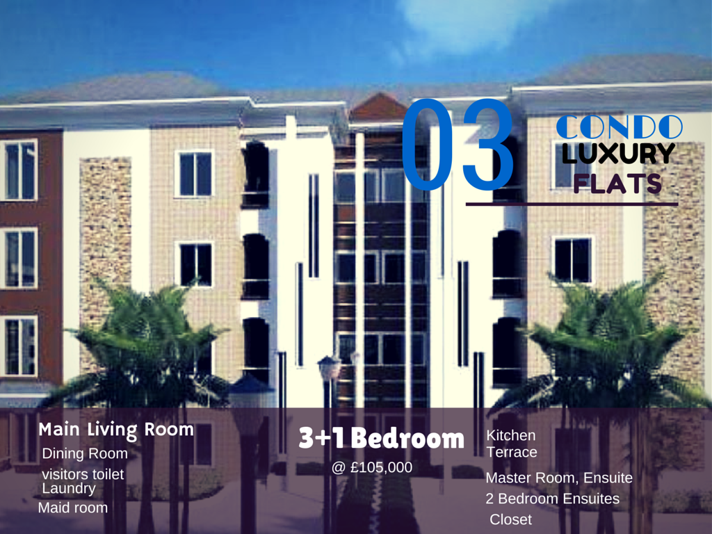 Condo luxury  Finished Apartments – Lekki