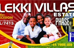 Land – Lekki Villas Estate Phase 1 (spread payment)