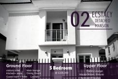 Ecstacy Deluxe Detached Duplex – Lekki