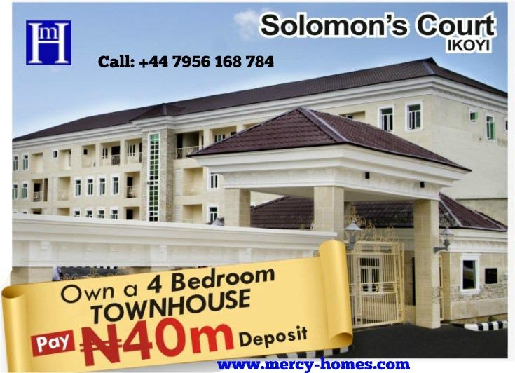 4 BEDROOM DELUXE TERRACE, Parkview estate, Ikoyi Lagos