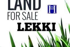 PLOTS OF LEKKI PRIME LAND FOR SALE SANDWORTH RESORT