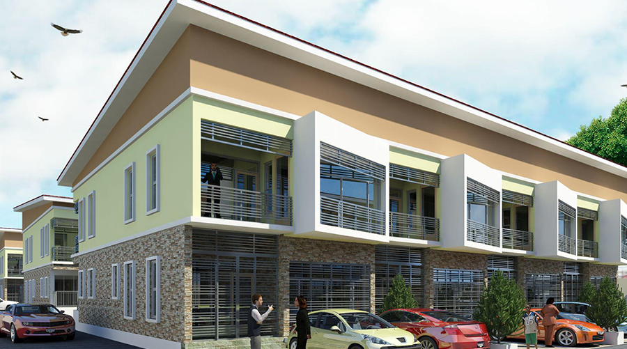 Elay's Imperial Court 4 bed luxury terrace, Lekki-Peninsula